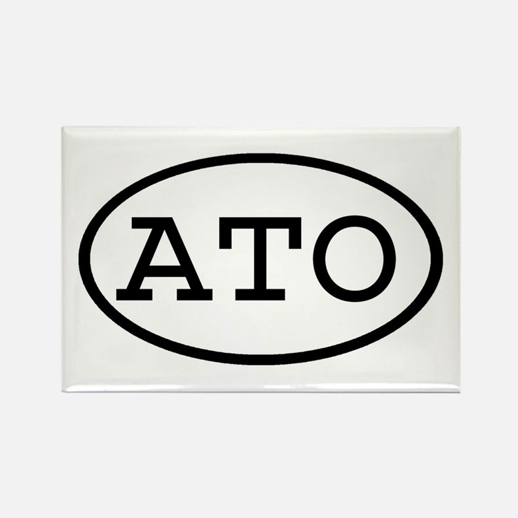 ATO Oval Rectangle Magnet
