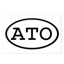 ATO Oval Postcards (Package of 8)