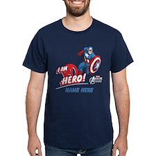 Avengers Assemble Captain America Per T-Shirt