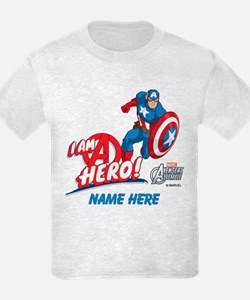 Avengers Assemble Captain Ameri T-Shirt