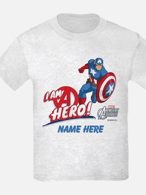 Avengers Assemble Captain Ameri T-Shirt