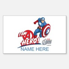 Avengers Assemble Captain Amer Decal