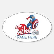Avengers Assemble Captain America P Decal