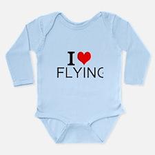 I Love Flying Body Suit