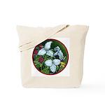 Trillium Circle Tote Bag