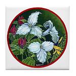 Trillium Circle Tile Coaster