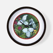 Trillium Circle Wall Clock