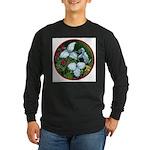 Trillium Circle Long Sleeve Dark T-Shirt