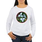 Trillium Circle Women's Long Sleeve T-Shirt