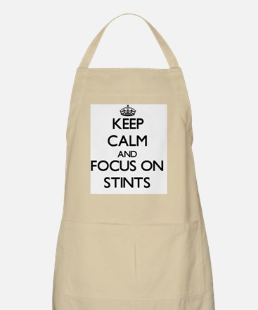 Keep Calm and focus on Stints Apron