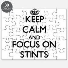 Keep Calm and focus on Stints Puzzle