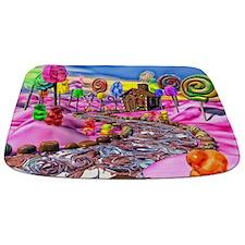 Pink Candyland Bathmat