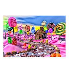 Pink Candyland Postcards (Package of 8)
