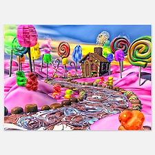 Pink Candyland Invitations