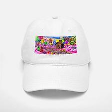 Pink Candyland Baseball Baseball Cap
