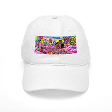 Pink Candyland Baseball Cap