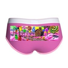 Pink Candyland Women's Boy Brief