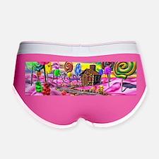Pink Candyland Women's Boy Brief