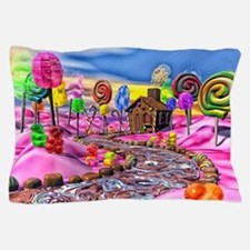 Pink Candyland Pillow Case