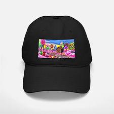 Pink Candyland Baseball Hat