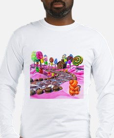 Pink Candyland Long Sleeve T-Shirt