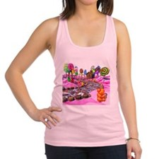 Pink Candyland Racerback Tank Top