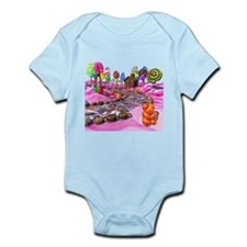 Pink Candyland Infant Bodysuit