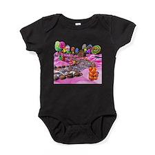 Pink Candyland Baby Bodysuit