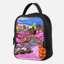 Pink Candyland Neoprene Lunch Bag