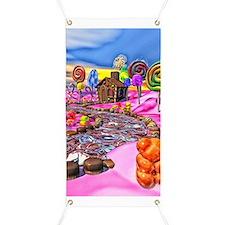 Pink Candyland Banner