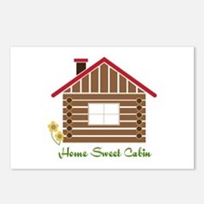 Home Sweet Cabin Postcards (Package of 8)