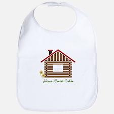 Home Sweet Cabin Bib