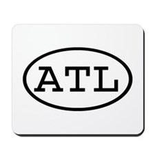 ATL Oval Mousepad