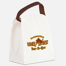 Cute Bo Canvas Lunch Bag
