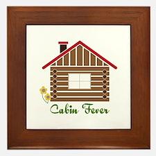 Cabin Fever Framed Tile