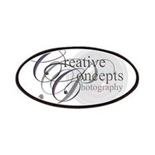 Creative Concepts Photography logo Patches