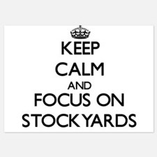 Keep Calm and focus on Stockyards Invitations