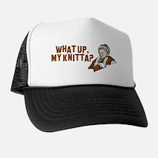 Unique Knitter Trucker Hat
