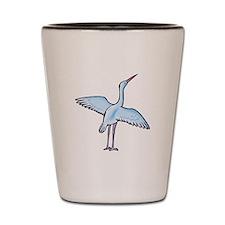 stork Shot Glass