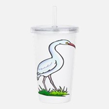 stork Acrylic Double-wall Tumbler