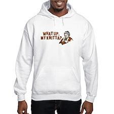 What up, my knitta? Hoodie