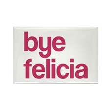 Bye Felicia Rectangle Magnet