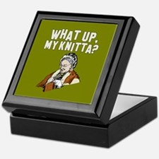 What up, my knitta? Keepsake Box