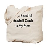 Baseball coach Canvas Bags