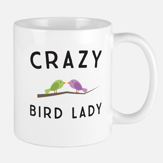 Crazy bird lady Mugs