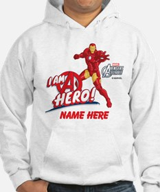 Avengers Assembled Iron Man Pers Hoodie