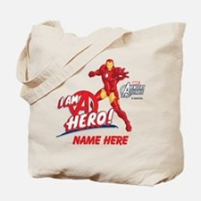 Avengers Assembled Iron Man Personalized Tote Bag
