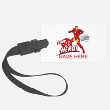 Avengers Assembled Iron Man Pers Luggage Tag