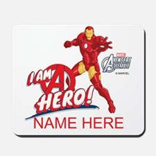 Avengers Assembled Iron Man Personalized Mousepad