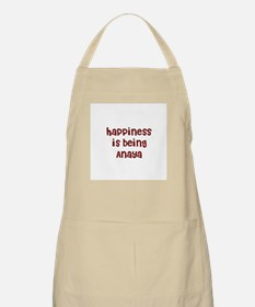 happiness is being Anaya BBQ Apron